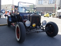"A 1920 Ford Model T, owned by Doug and Judi Herschbach of Salem, Oregon was the epitome of a ""rat rod"" at the Show & Shine in Junction City, Oregon, June 4, 2016."