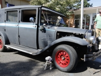 "This 1927 Hudson 4 Door is the very definition of a ""rat Rod"". Its owners, Thersa and Sandy Segersons from Otis, Oregon built it just for that purpose. it was at the Show & Shine in Junction City, Oregon, June 4, 2016."